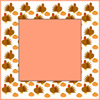 Thanksgiving graphic, turkeys and pumpkins clip art frame
