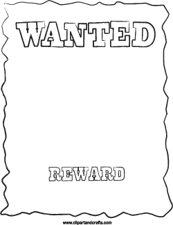 Beautiful Wanted Poster Template For Kids Images - Best Resume ...
