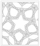 Coloring Fun For Kids And Grownups Complex Celtic Star Design