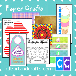 Crafts Activities, Templates and Articles