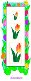sided bookmark gardener s bookmarks two designs on one sheet