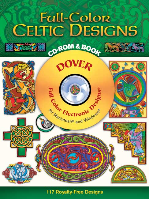 Celtic graphic designs on CDROM
